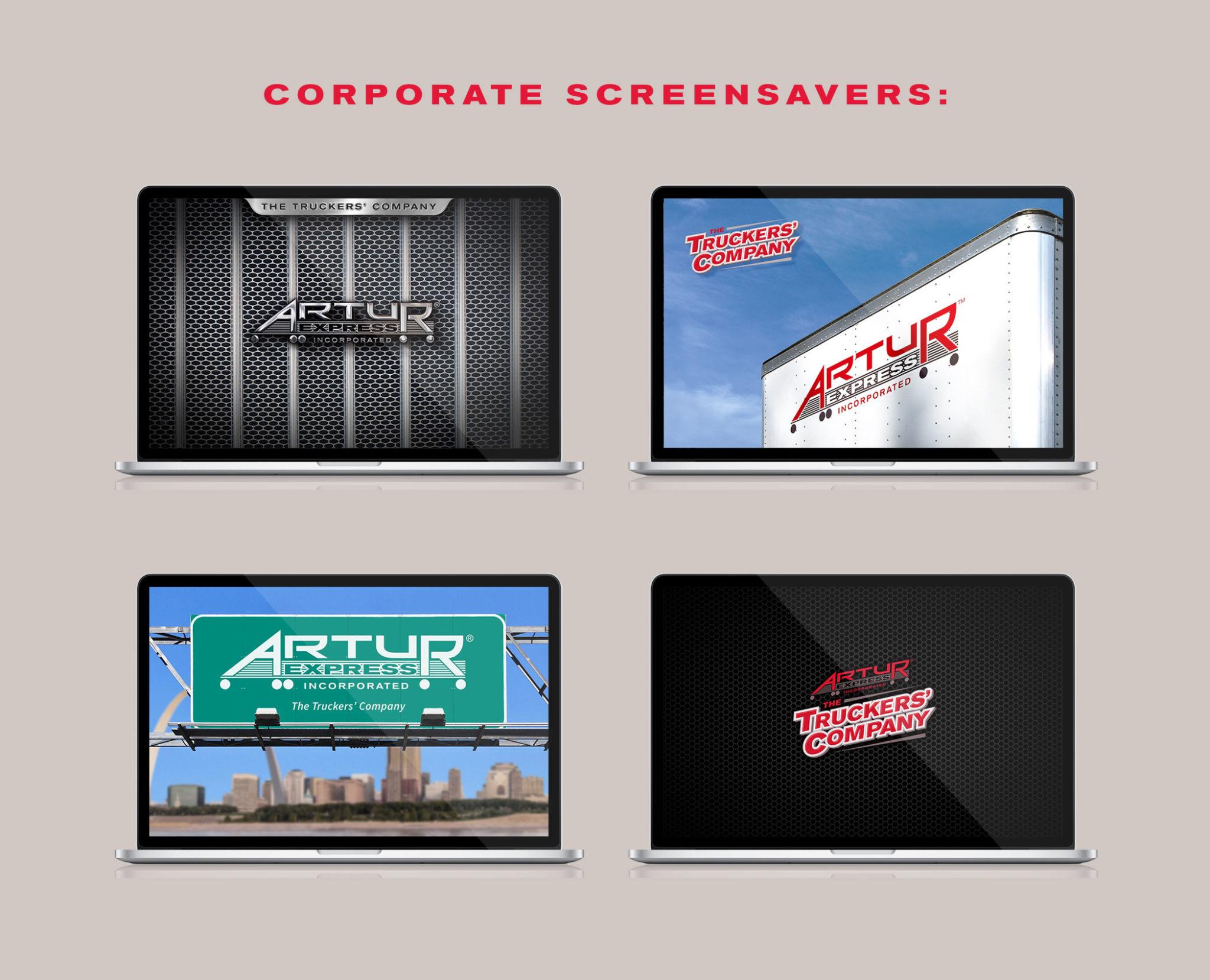 Artur screensaver designs