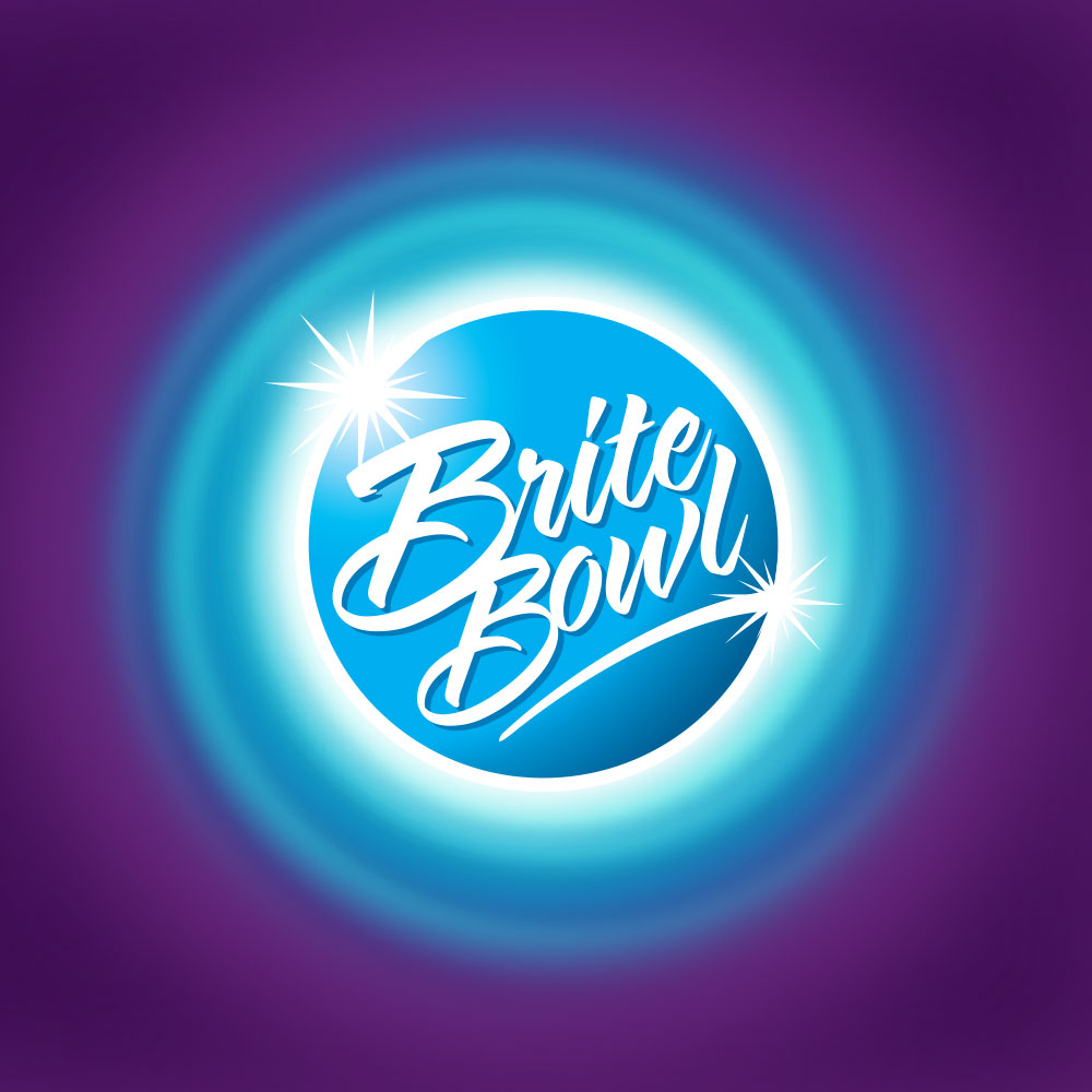 Brite Bowl logo design