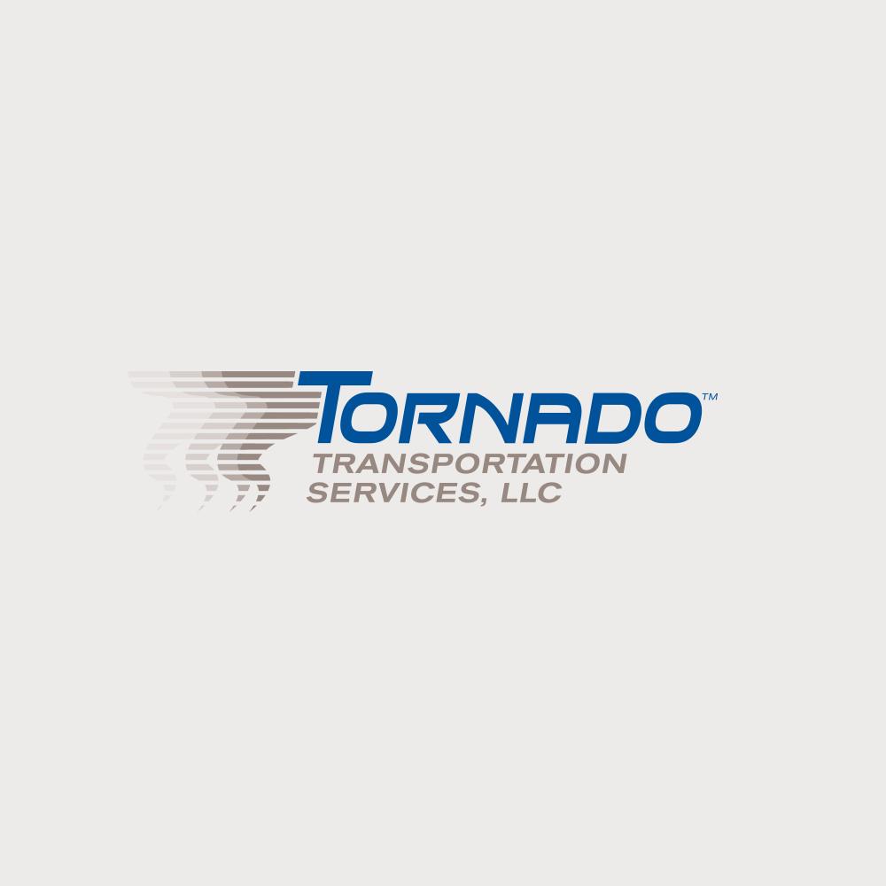 Tornado logo design