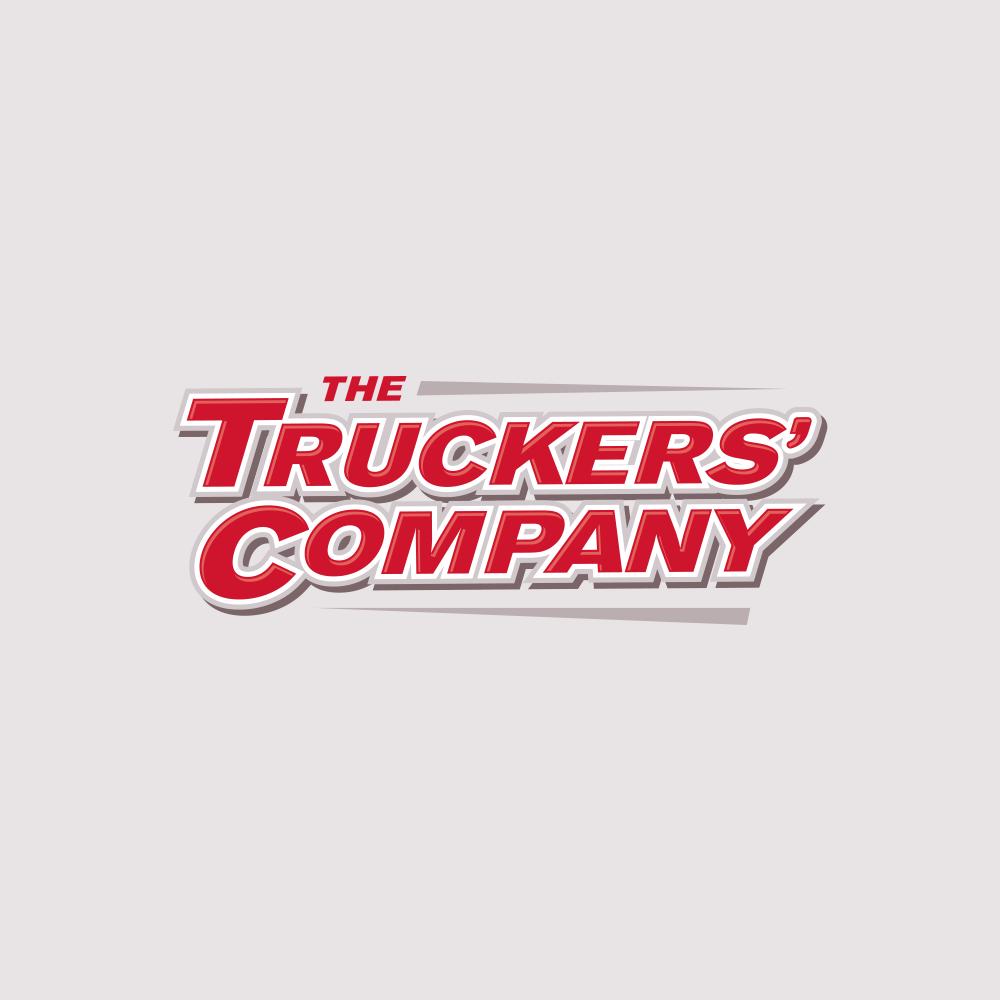 trucker company logo design