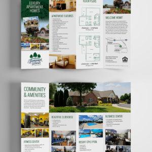 Tamarack Accordion Brochure Design