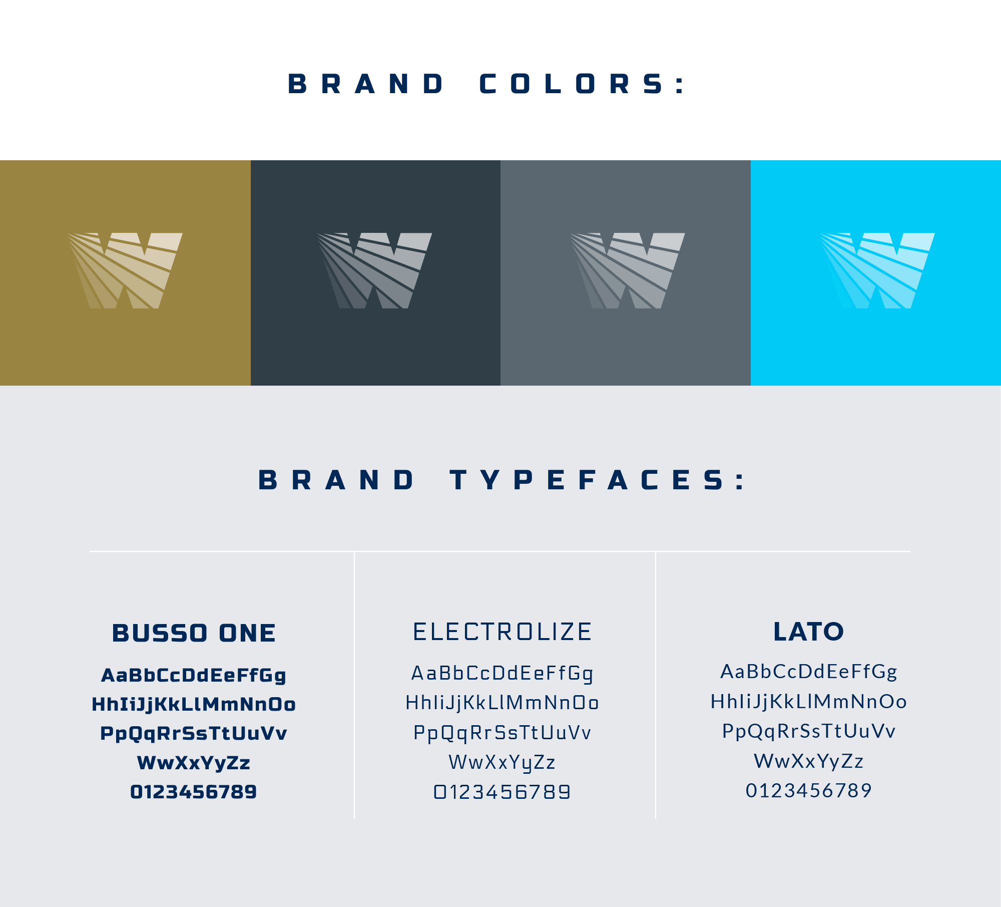 WattSun brand colors & fonts