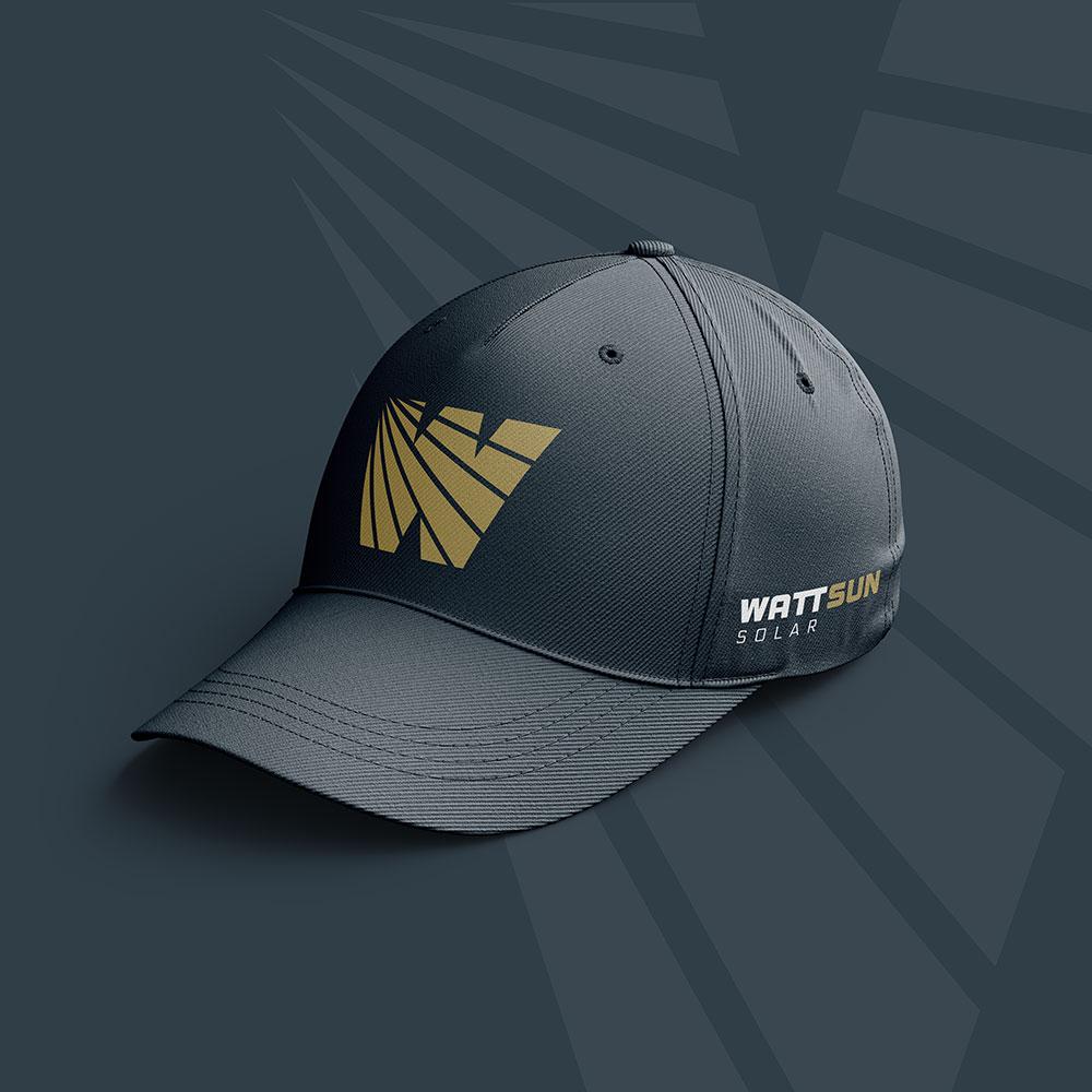 WattSun brand hat design