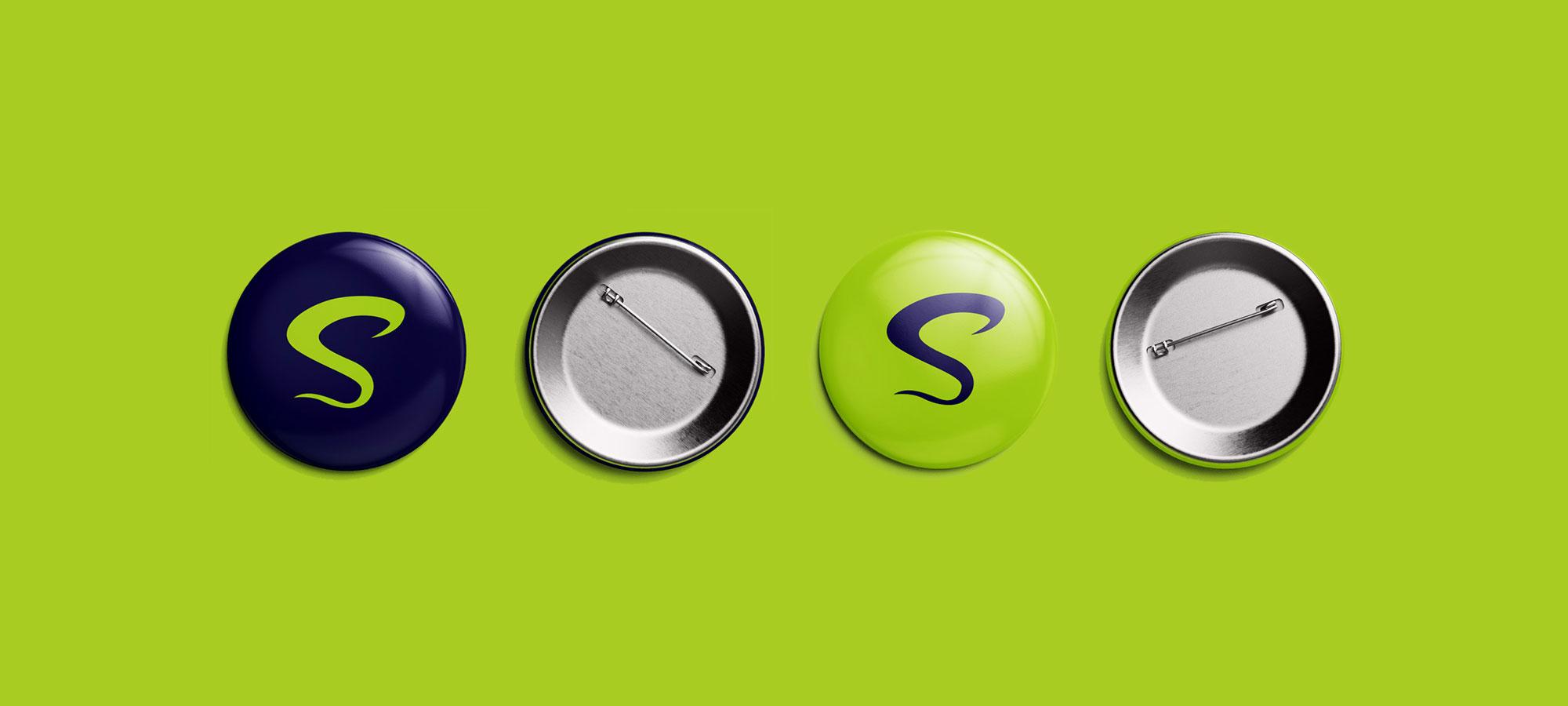 SB brand pin design