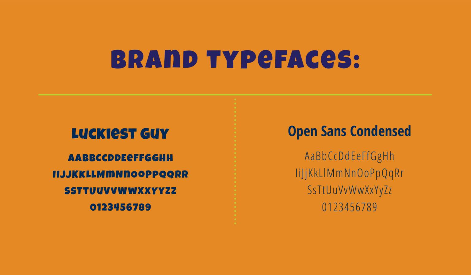SB brand typography