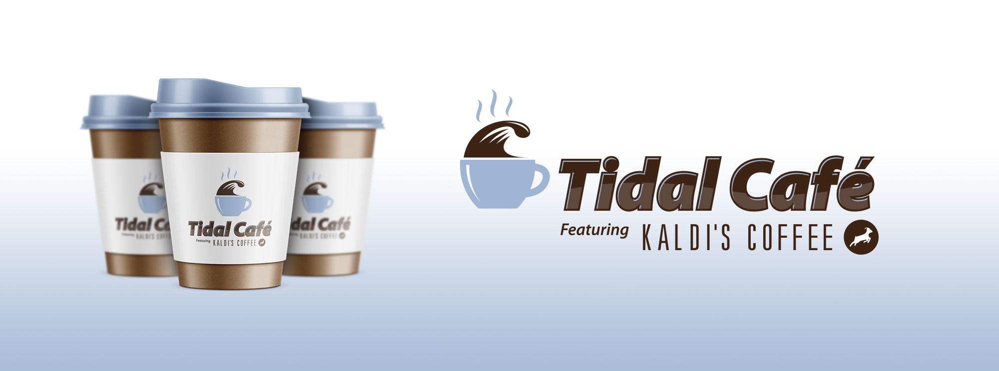 Tidal Cafe Branding