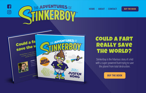Stinkerboy Website