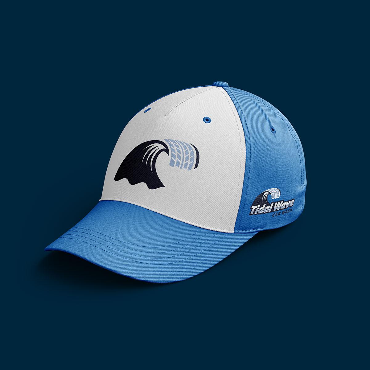 Tidal branding hat design