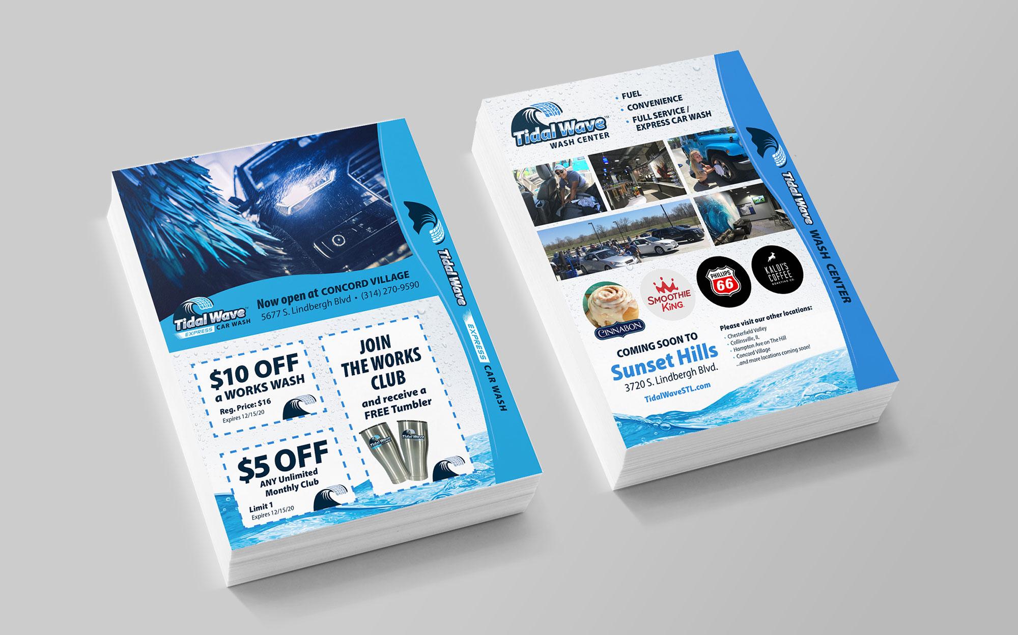 Tidal coupon insert design
