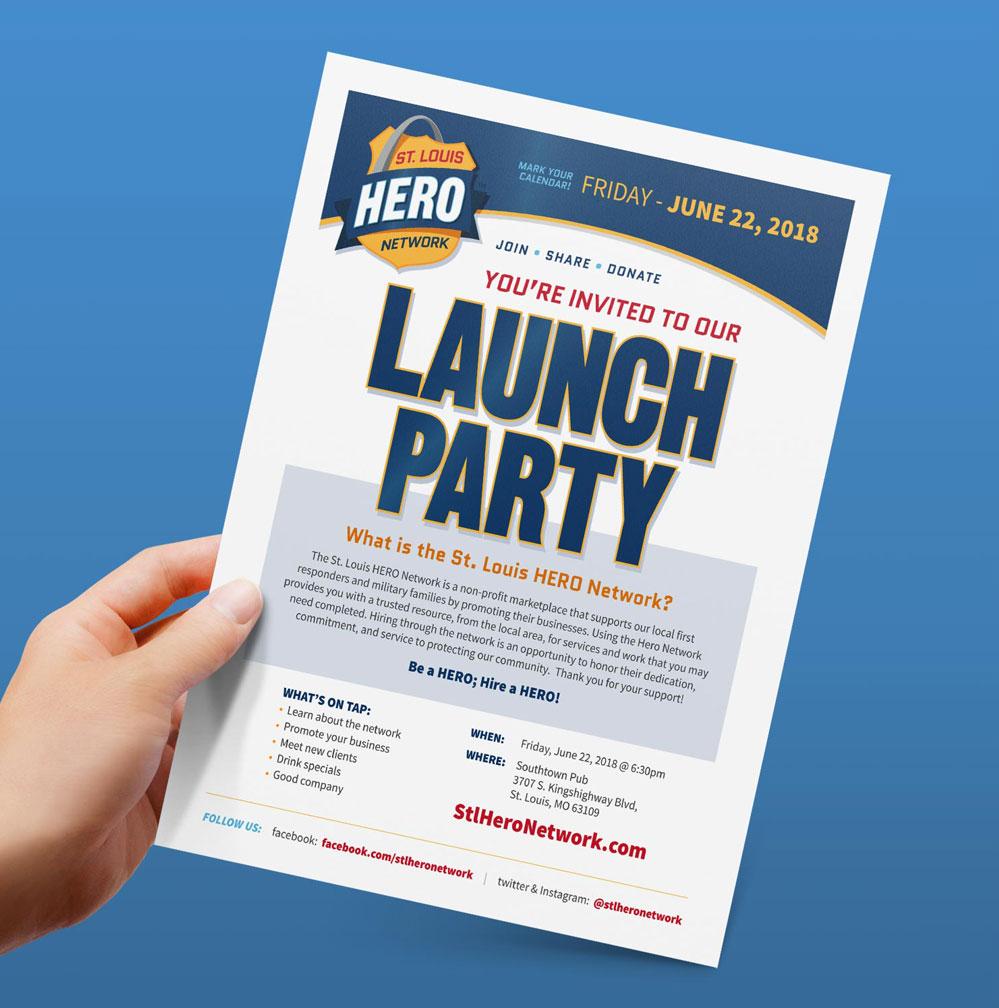 hero-flyer-design