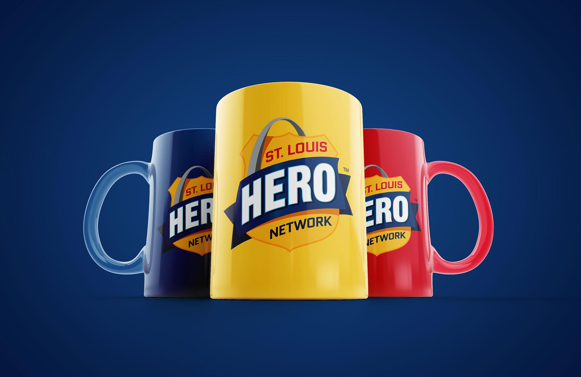 hero coffee mug designs