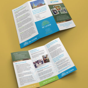 One Classroom Trifold Brochure