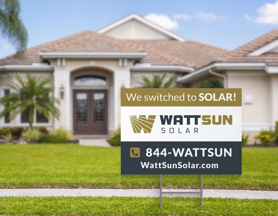 WattSun Branding Design