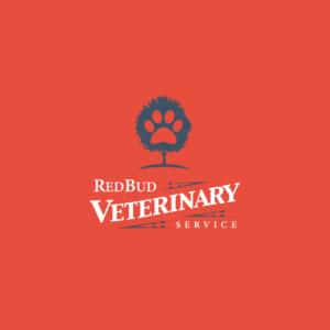 Red Bud Vet Logo Option