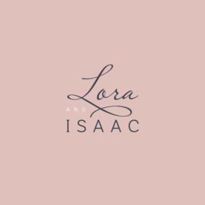 Final Lora & Isaac logo