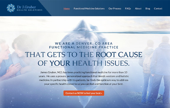Dr. Gruber web design