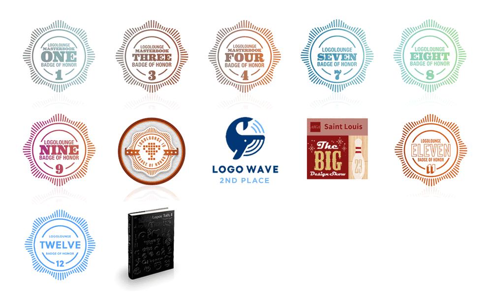 Visual Lure branding & logo design awards
