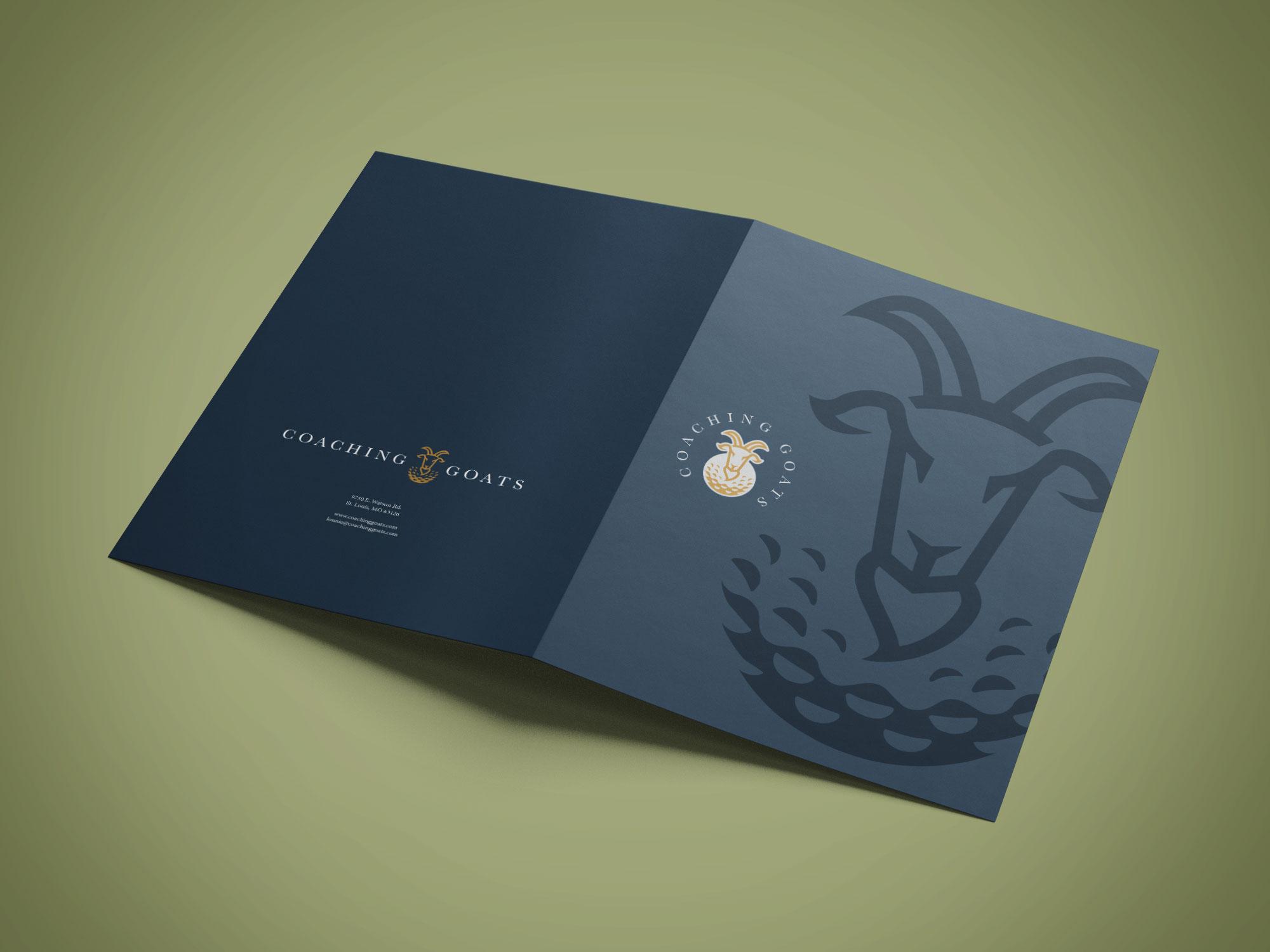GOATS folder design