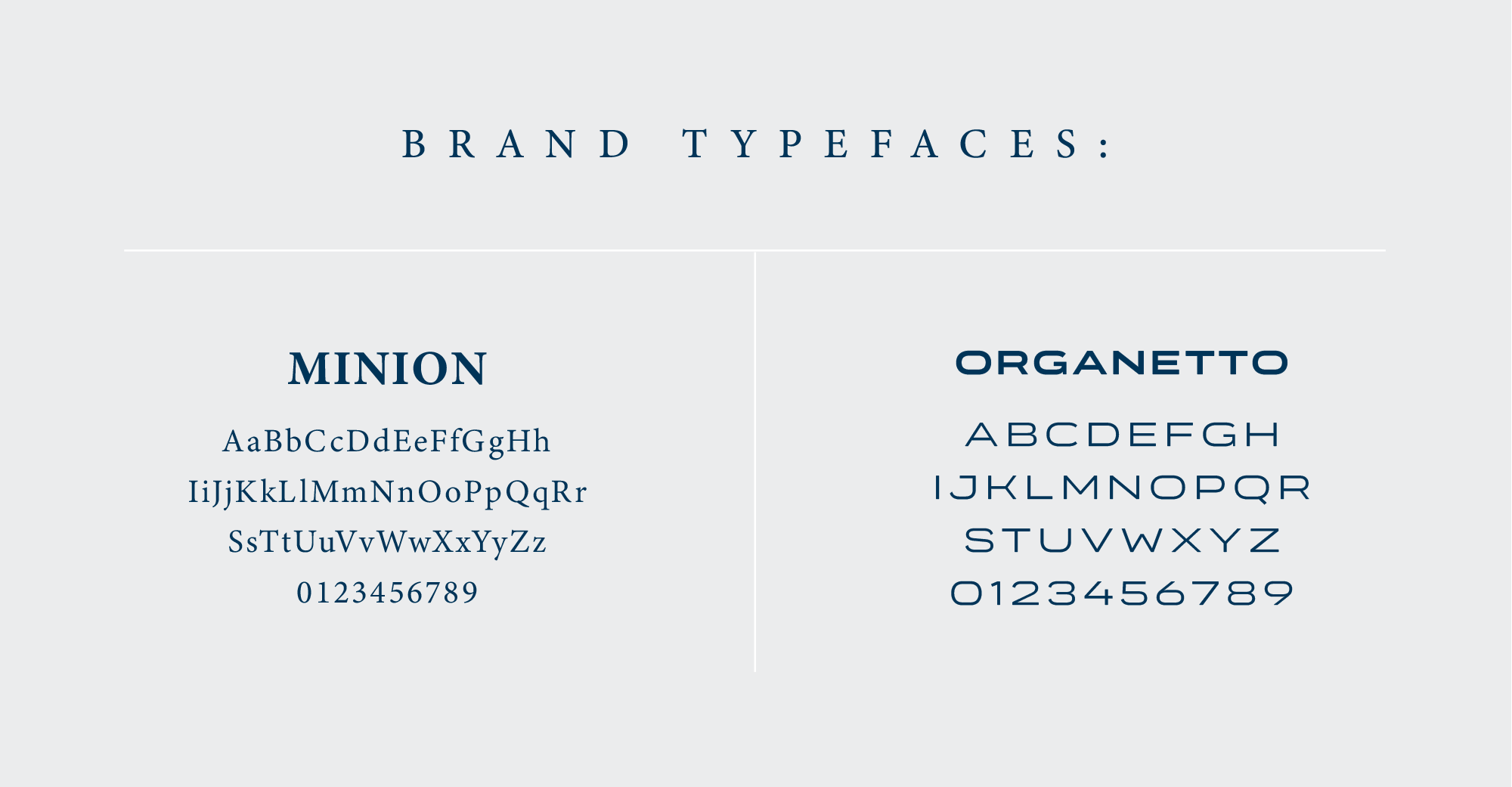 goat brand typefaces