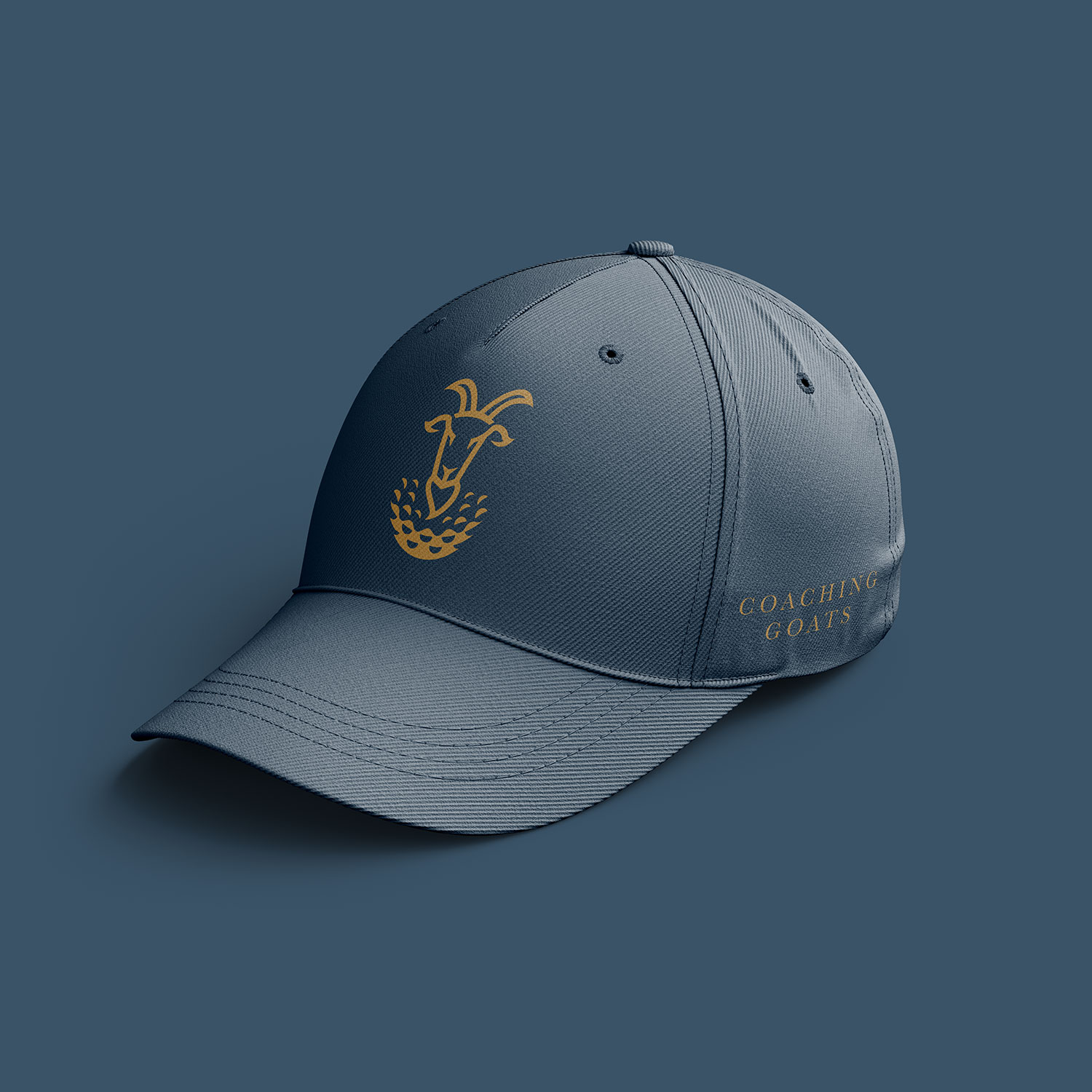 coaching goats hat design