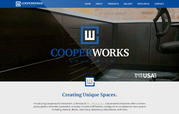 CooperWorks WordPress web design