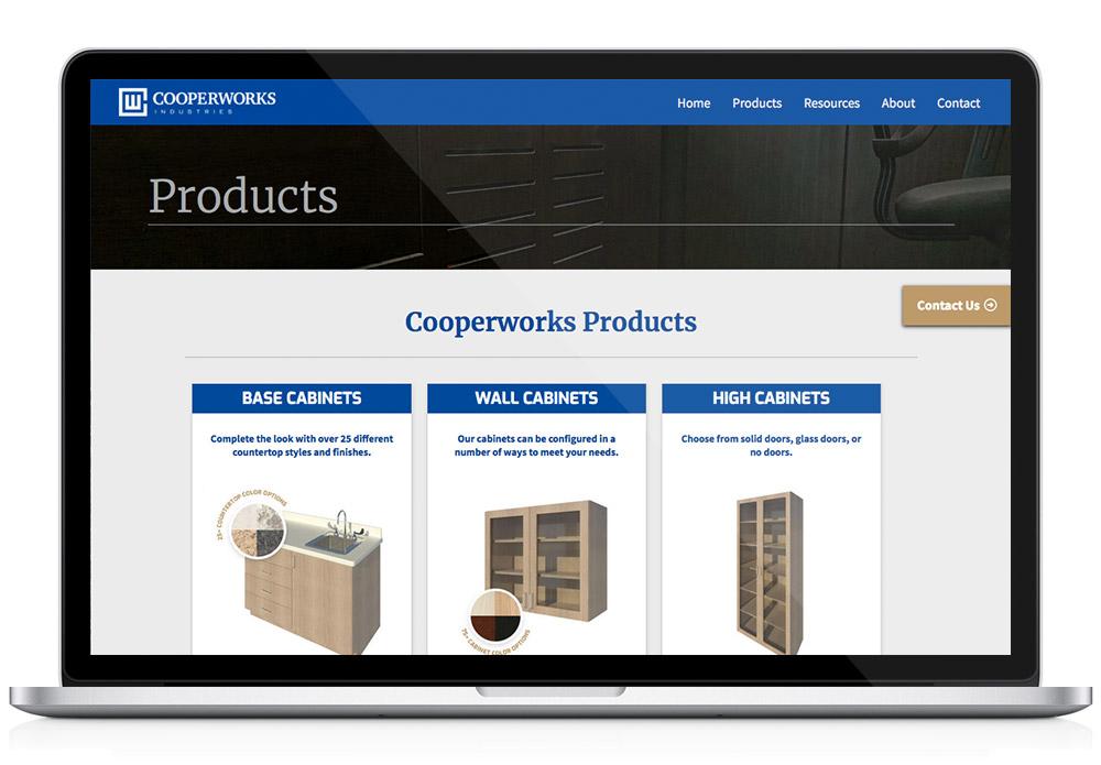 CooperWorks WordPress website product page