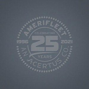 Amerifleet 25th Anniversary Logo