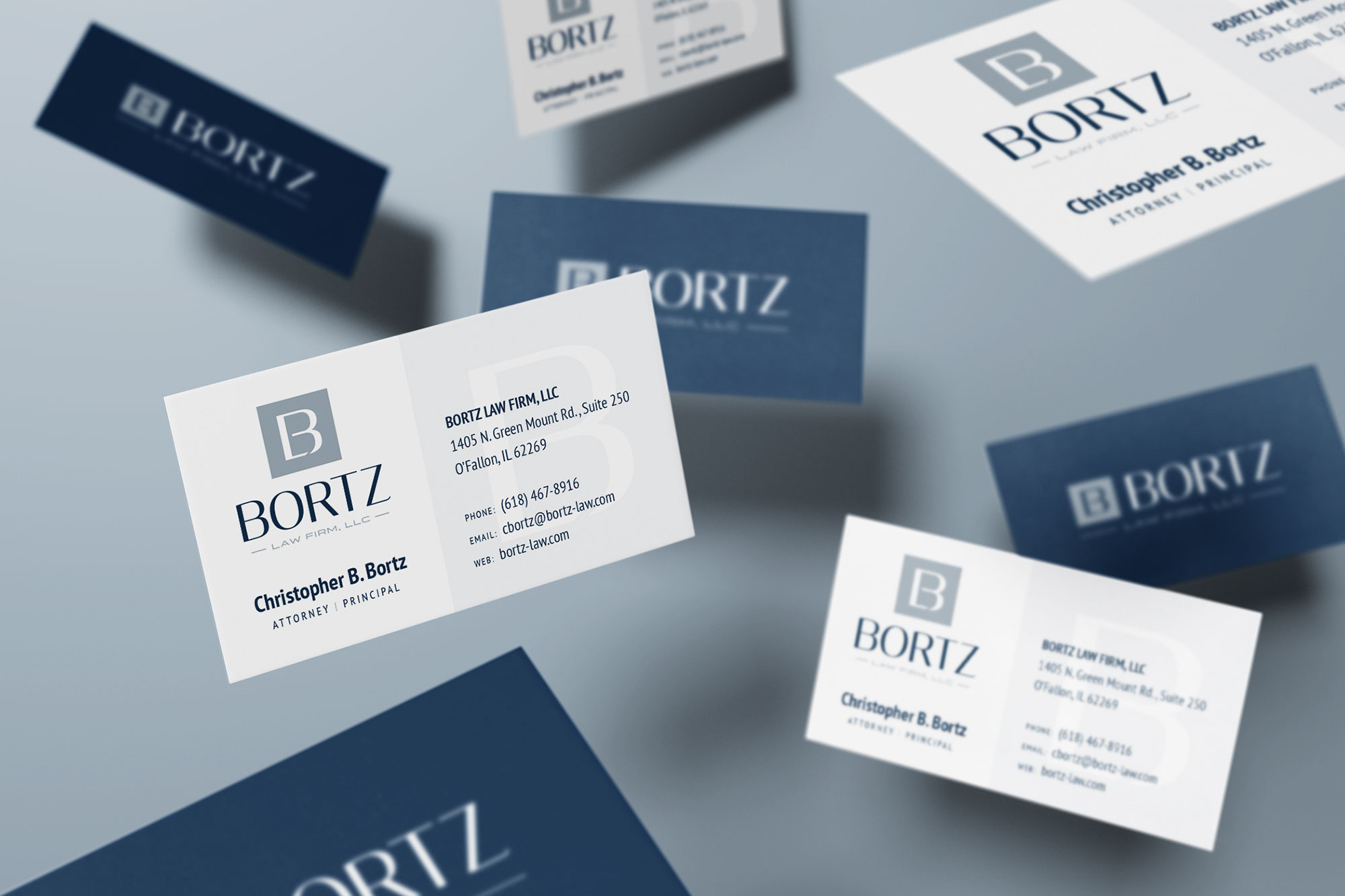 bortz-business-card-design