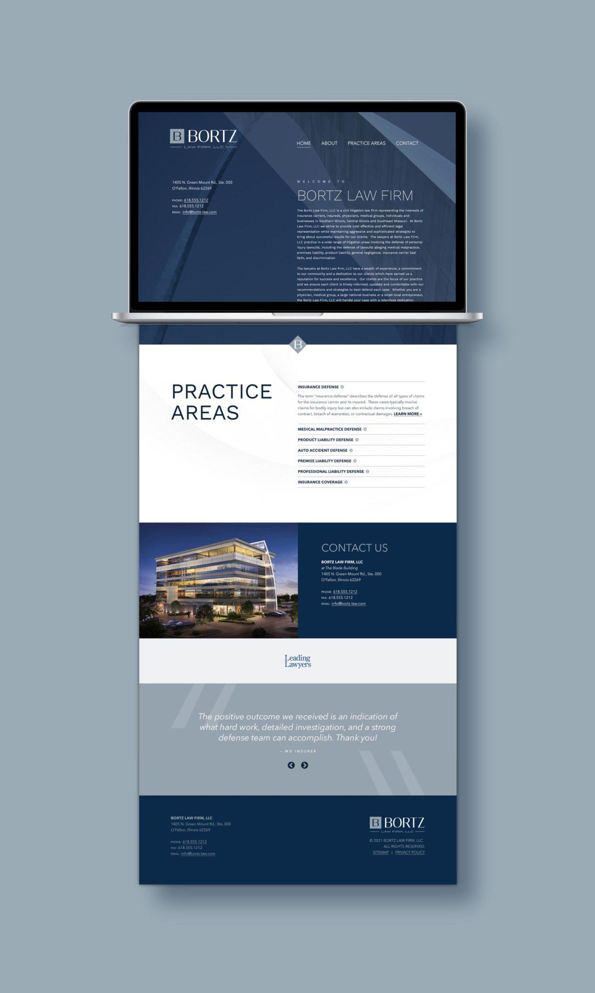 bortz-website-design