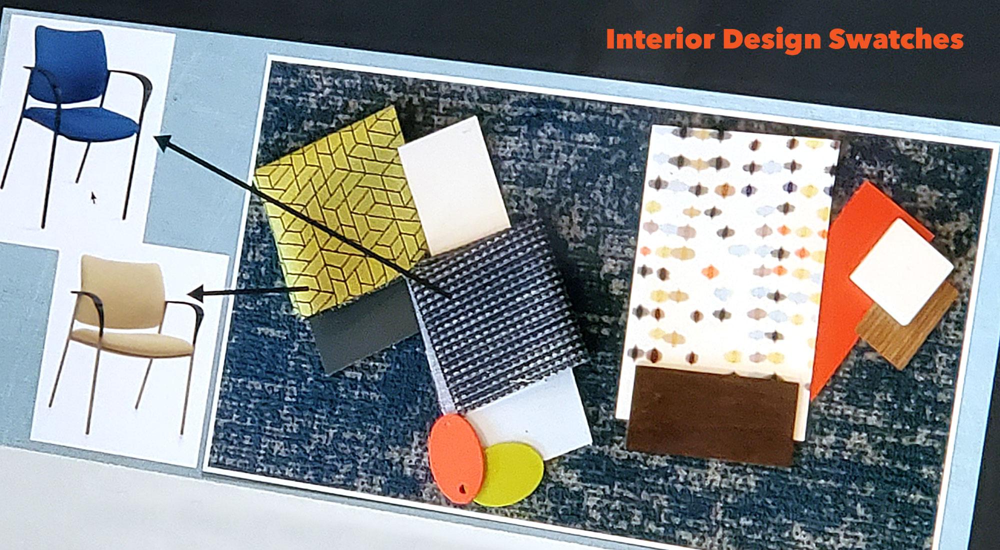 VO interior design swatches