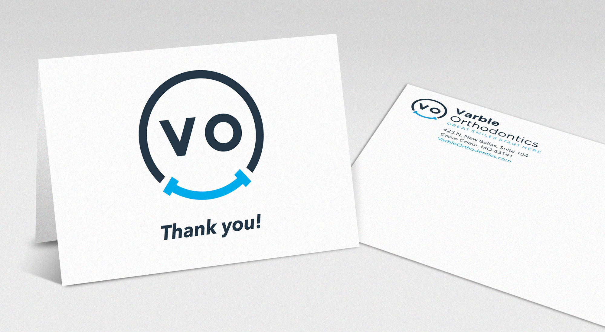 VO Thank You Cards design