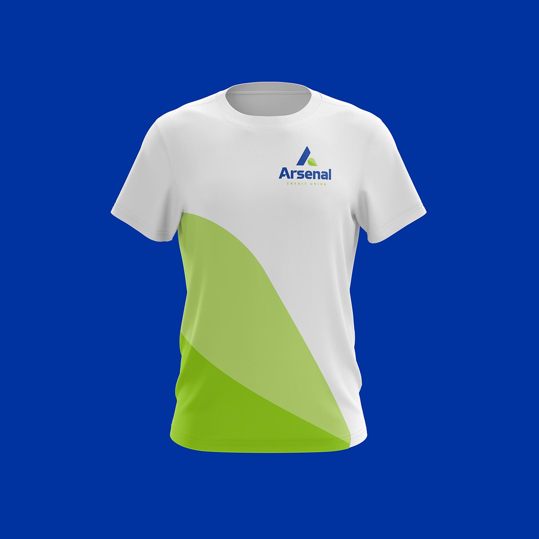 branded arsenal tshirt design