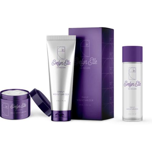 EE Skincare Line Packaging Design