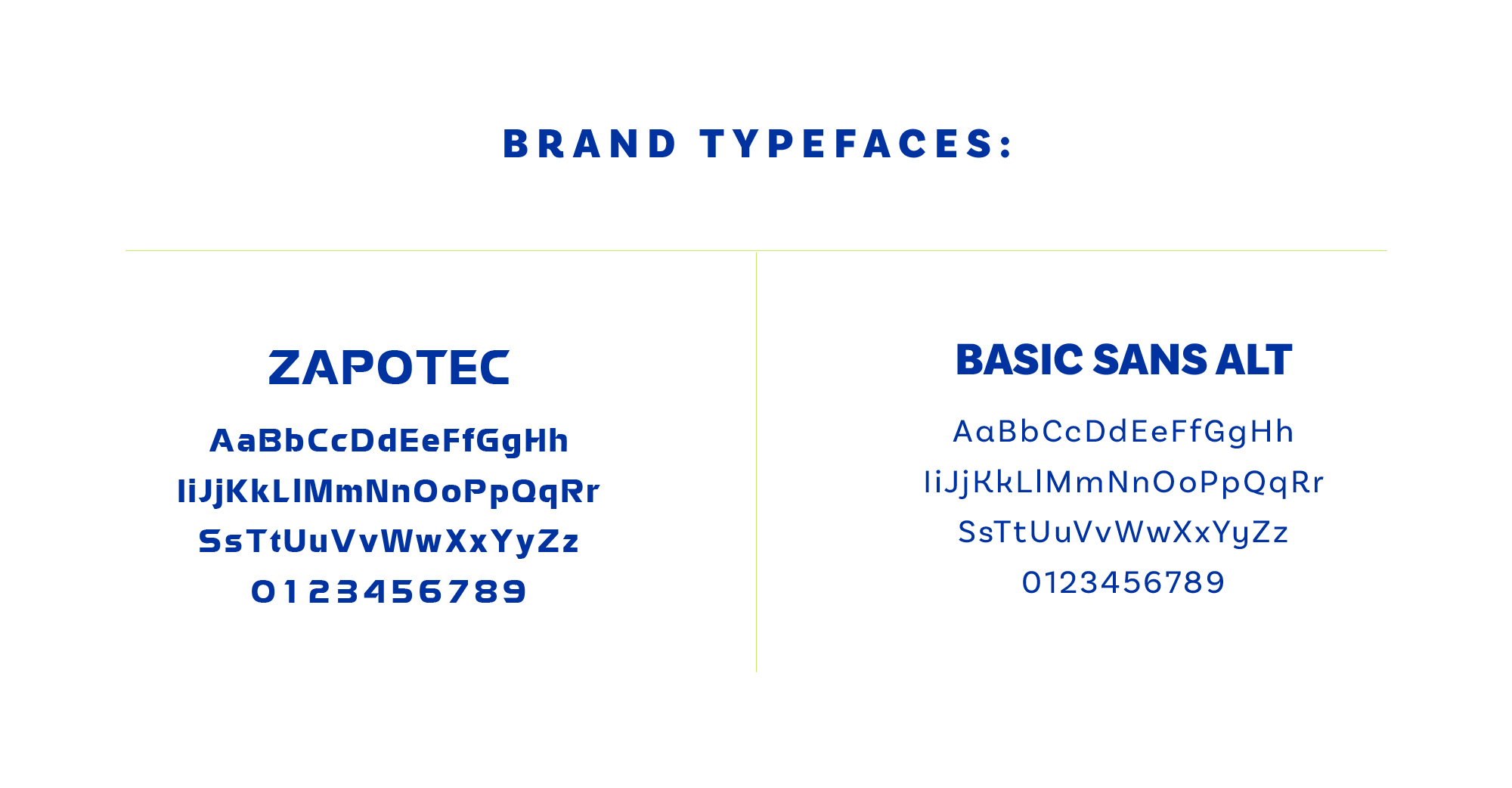 arsenal branding typefaces