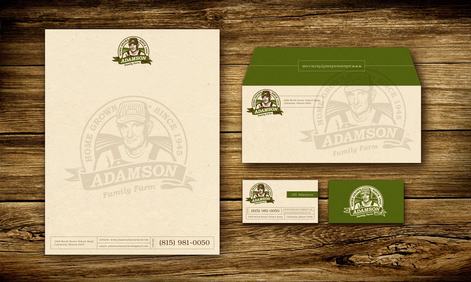 Adamson branding identity design