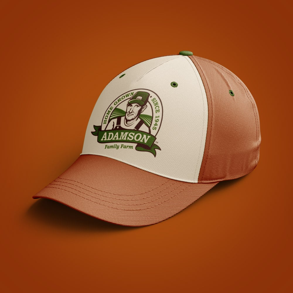 adamson graphic design hat