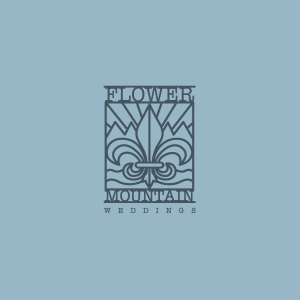 Logo design for Flower Mountain Weddings in Gatlinburg