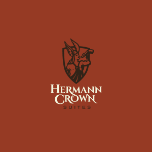 Hermann Crown logo design