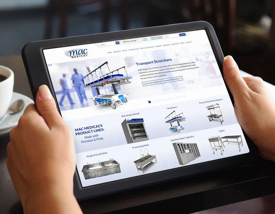 Mac Medical Website Design