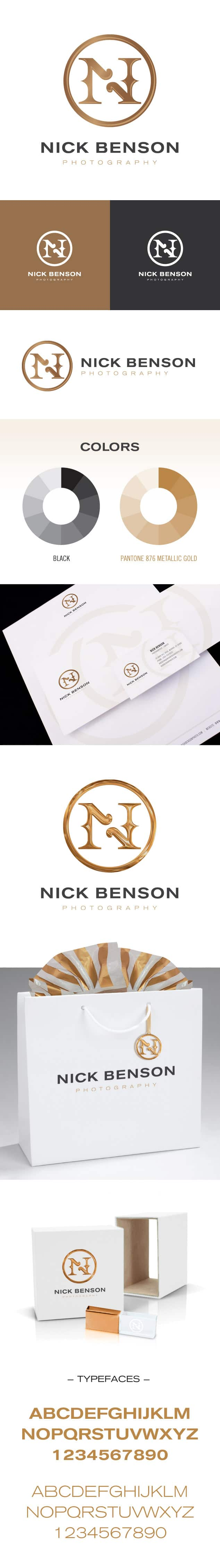 Nick Benson Photography Branding Package