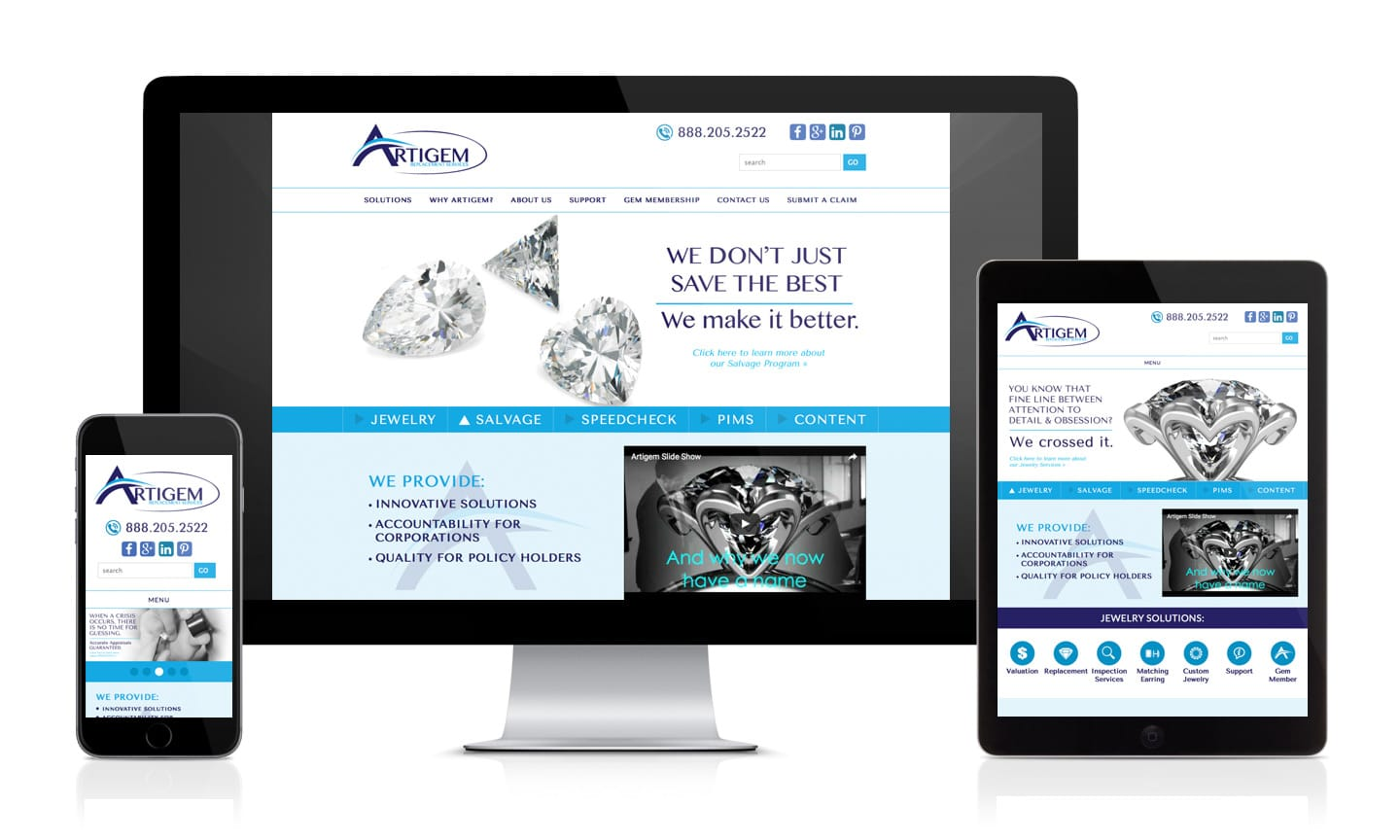 Artigem Website