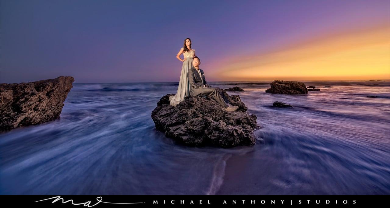 el-matador-beach-engagement-photography-1