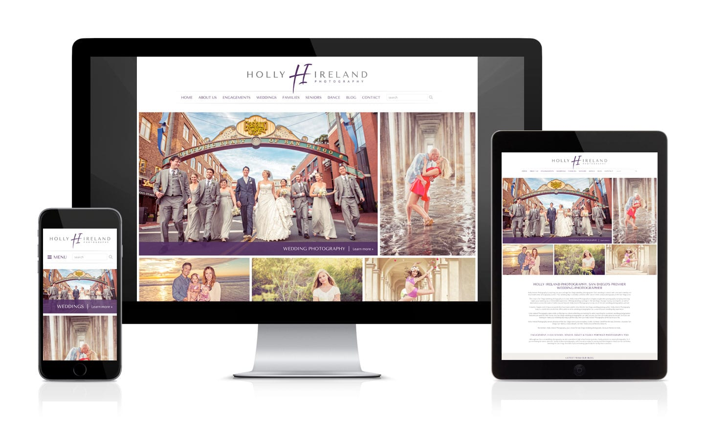 New Holly Ireland Photography WordPress Website