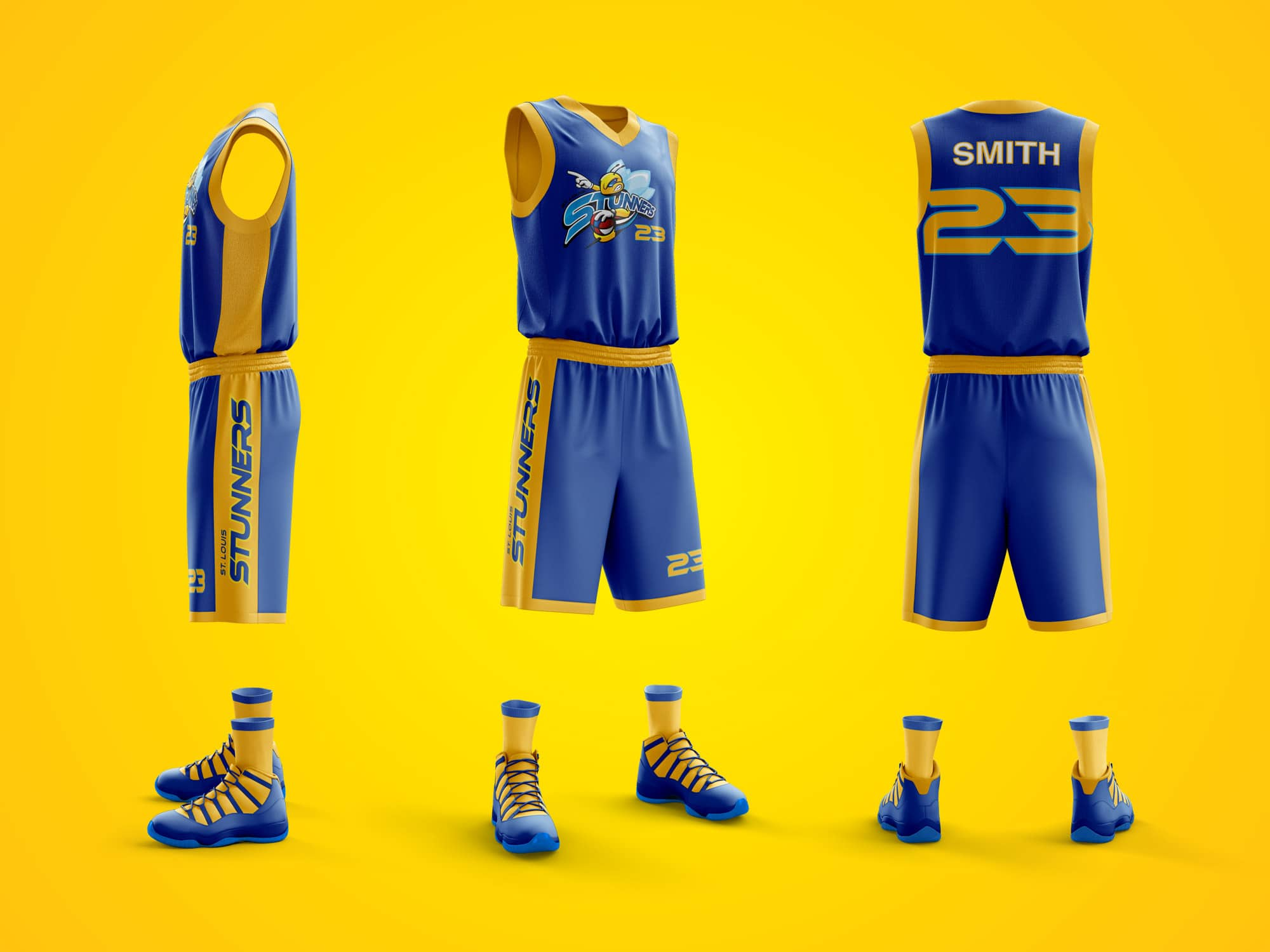 stunners-uniform-design